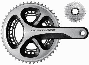 Tableau des développements pour vélos de route - rouesterel
